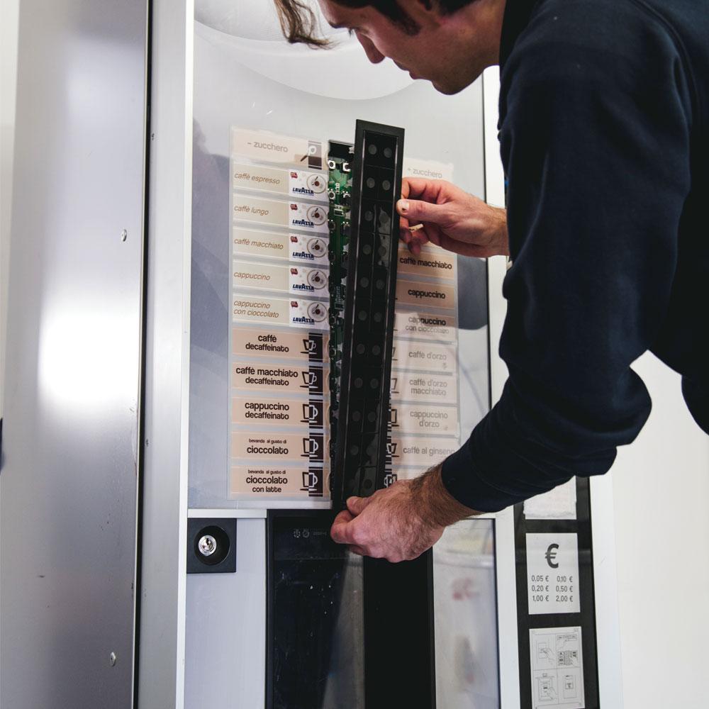 Installazione distributori automatici in comodato d'uso gratuito